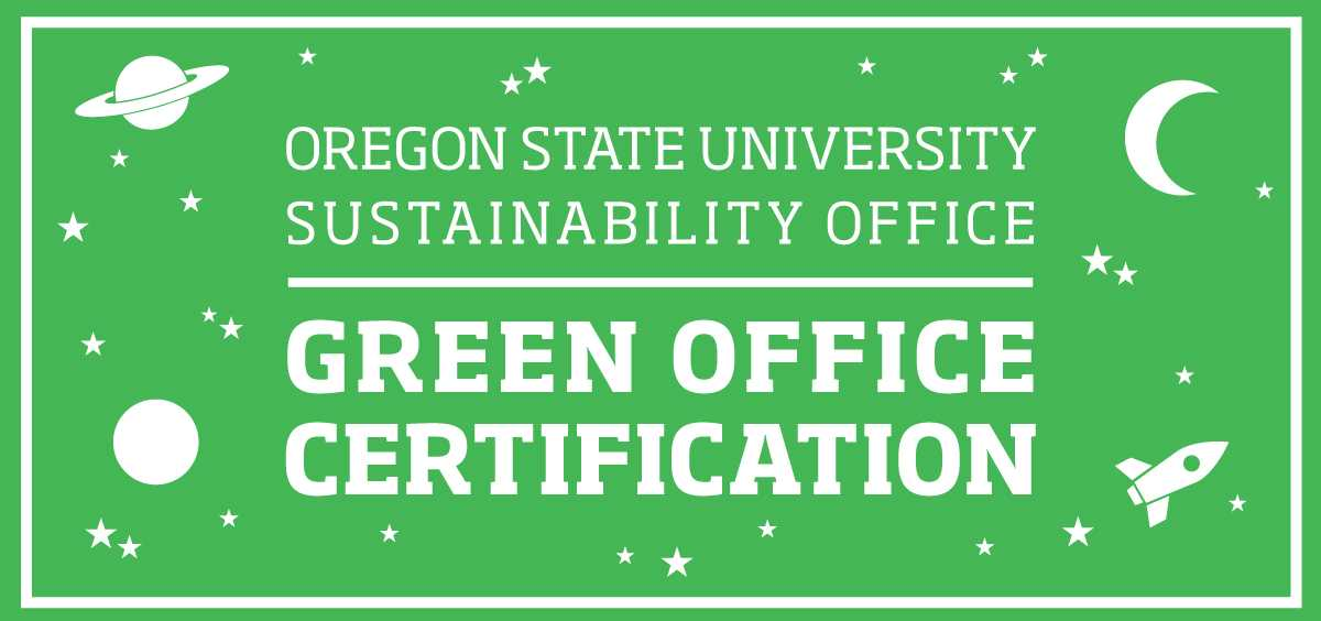 Green Office Certification | Finance and Administration | Oregon ...