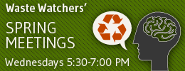 Learn more about the Waste Watchers and their weekly meetings