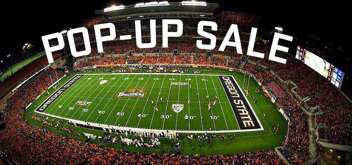Football Pop-Up Sale graphic