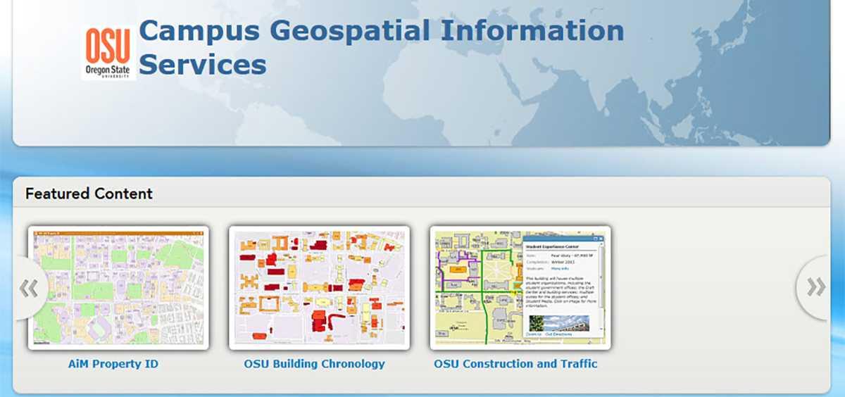 Campus Geospatial Information Services