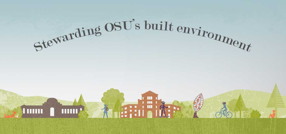 CPD stewardship of OSU's built environment graphic