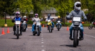 Supporting motorcycle training
