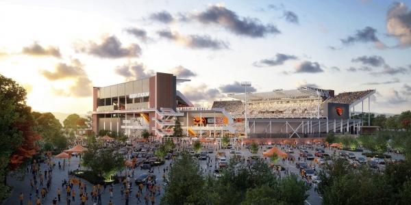 Completing Reser Stadium