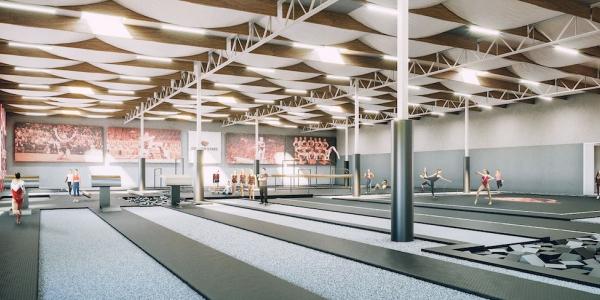 Gymnastics Practice Facility
