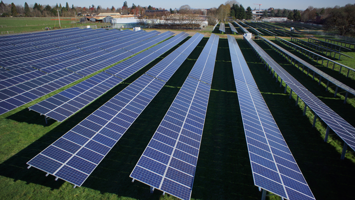 Ground Mounted Photovoltaic Arrays Finance And
