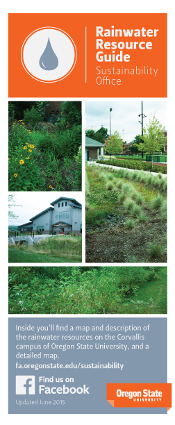 Rainwater Resource Map Brochure