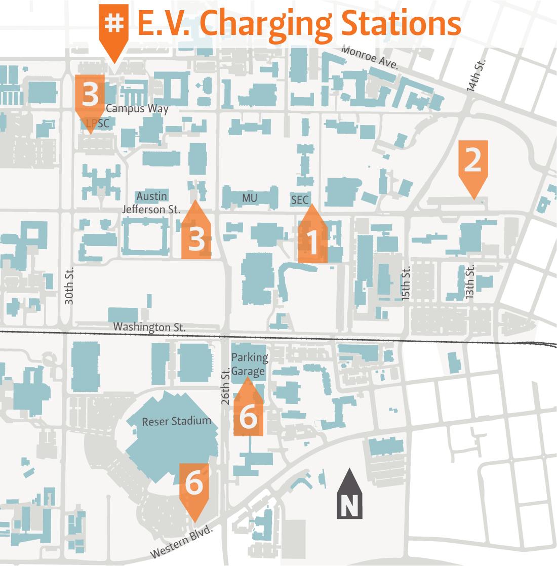 EV Charging Finance And Administration Oregon State University - Us map of ev charging stations